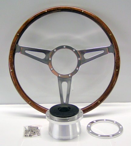 Steering Wheel - wood original style